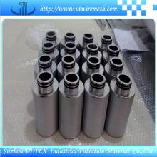 Elemento de filtro de aço inoxidável com relatório do GV