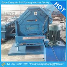Máquina de moldagem de rolo c z purlin, máquina de formação de forma c, máquina de formação de canal c