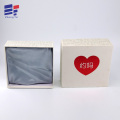 Red hot stamping paper clothing packaging box