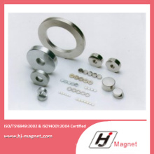 High Power Customized Ring Magnet Certified by ISO14001