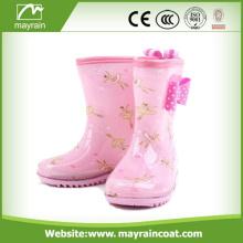 New Lovely Children Waterproof Anti-slip Rubber Rain Boots For Kid