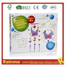 Butterfly Windchime DIY juguete para los niños