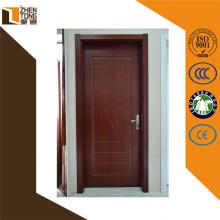 Porte en verre de mdf de PVC de conception de mode de haute qualité, images extérieures de porte en bois, porte en bois intérieure pour l'hôpital
