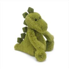 Peluches de dinosaurio verde