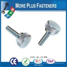 Feito em Taiwan aço inoxidável chapa de metal inoxidável polegar parafusos m2 polegar parafuso