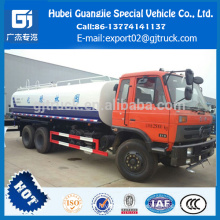High performance Dongfeng 6x4 water tanker truck 20m3