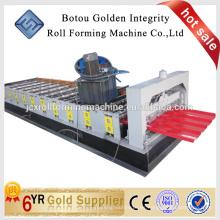 2015 Rodillo de encargo vendedor caliente del perfil de la azotea de la teja que forma la máquina