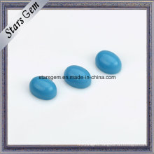 Most Popular Turquoise Nanogems Cab Flat Bottom Ov 6X4mm
