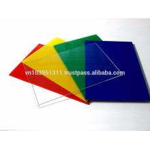 Feuille de polystyrène PMMA solide de 1220 mm * 2440 mm