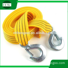 nylon emergency tool 5000lbs 4m 5 ton 5 T car tow rope auto trailer tow fluorescent traction rope stretch rope tow strap