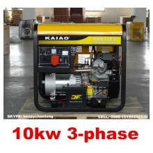 Low Price 10kw Portable Silent Diesel Generator