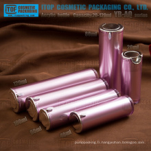YB-AQ Series 20ml, 40ml, 60ml, 80ml 100ml, 120ml Appuyez sur pompe double couches autour de la bouteille de lotion acrylique