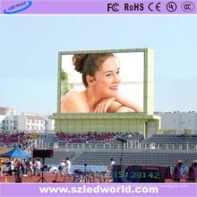 Pared video al aire libre de P10 DIP346 LED para hacer publicidad de 7000CD / M2