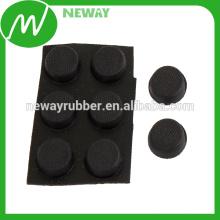 Fertigen Sie Qualität und preiswerte Gummi-schützende Kleber-Auflagen besonders an