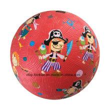 Cartoon Design Rubber Playground Ball Toys