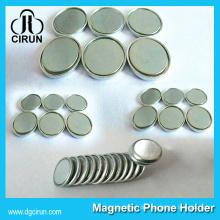 Super Günstige Preis Dia 15mm 12mm 10mm Disc Form Neodym Monopol Magnet für Verkauf