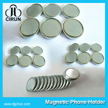 Super Cheap Price Dia 15mm 12mm 10mm Disc Shape Neodymium Monopole Magnet for Sale