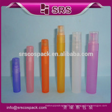 Botella de PP de forma redonda con cabeza Spryer y envase de plástico 4ml 7ml 9ml 12ml 16ml 20ml Botella de perfume de 30ml Cigar