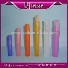 Redonda forma PP garrafa com Spryer cabeça e plástico recipiente 4ml 7ml 9ml 12ml 16ml 20ml 30ml de charuto perfume garrafa