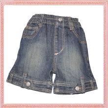 95% cotton and 5% terylene summer kids jean short pants