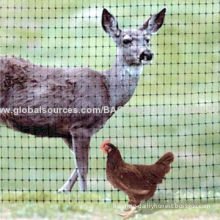 Deer fencing net with PP material, UV stabilizationNew