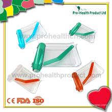 Bandeja de contagem de comprimidos transparente com espátula