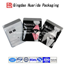 OEM Service High Clarity Ziplock Underwear Clothes Shirt Clothing Plastic Packing Bag