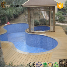 Green ecological innovative technology texture and touch wpc outdoor decoration building materials