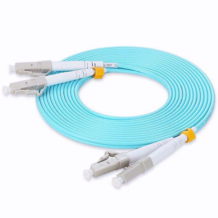 LC-LC OM3 duplex patch cord