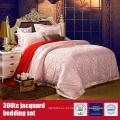 Roupa de cama luxuosa do hotel do algodão 300TC Jacquard