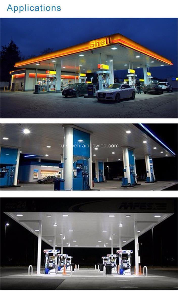 Hot Sale 100W LED Gas Station Light
