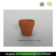 Bougeoir en céramique à l'argile naturelle extérieure - petit