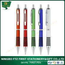 Bolígrafo plástico barato de color personalizado