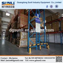 China Manufacturers Adjustable Metal Pallet Cargo Rack