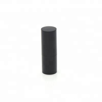 wholesale black 15g empty custom design lip balm plastic container