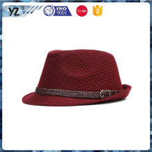 Latest arrival strong packing homburg fedora wholesale