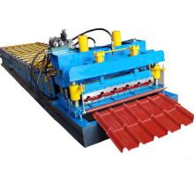 Tuile de toit en métal faisant la machine