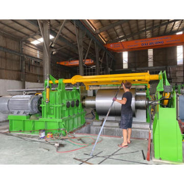 High Speed Thin Steel Coil Slitting Line