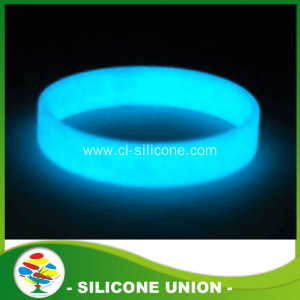 Promotion silicone Glow in the dark bracelet