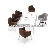 Chaise de loisirs de style euro chaise de café chaise pivotante