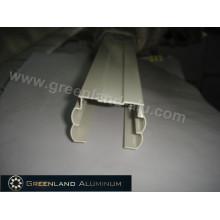 Rail de tête en aluminium pour stores verticaux de fenêtre