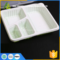 4 compartment disposable fast food tray