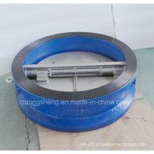 Válvulas de Retenção Dupla de Ferro Wafer Dual Flap Pn 25