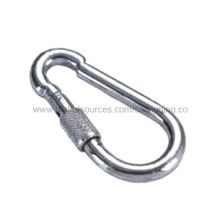 Spring Hook, Carbon Steel or Stainless Steel 304/316, Surface Galvanized or High Polished