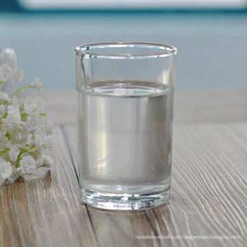 Großhandel 125 ml Klar Gehärtetes Trinkglas