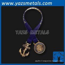 personnaliser les signets rétro en métal avec le ruban