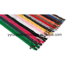 3# Open End Colorful Long Nylon Zipper for Kid′s Garments