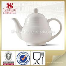Reiner weißer orientalischer billiger Teepostgroßhandelsteetopf von Guangzhou