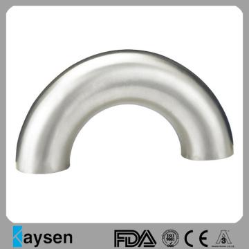3А Санитарная нержавеющая сталь 180 градусов сварной локоть