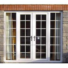 Sicherheit Verschließbare Doppelglas Französisch Aluminium Türen